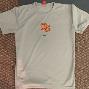 Youth XL Oregon state university Nike shirt grey